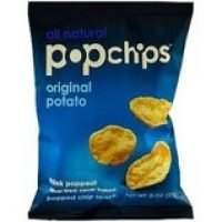 Another one of Stay Healthy Vending products. Pop chips, same great taste as regular potato chips but less calories