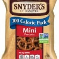 Another one of our miami vending machine products. Snyder's Hanover pretzels the low calorie ones. Amazing.