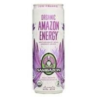 A product we place in our vending machines. It is called Amazon Energy, it comes in a can and is an energy drink. Delicious.