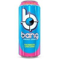 A product we put in our Vending Machines. Its called Bang it is an energy drink.
