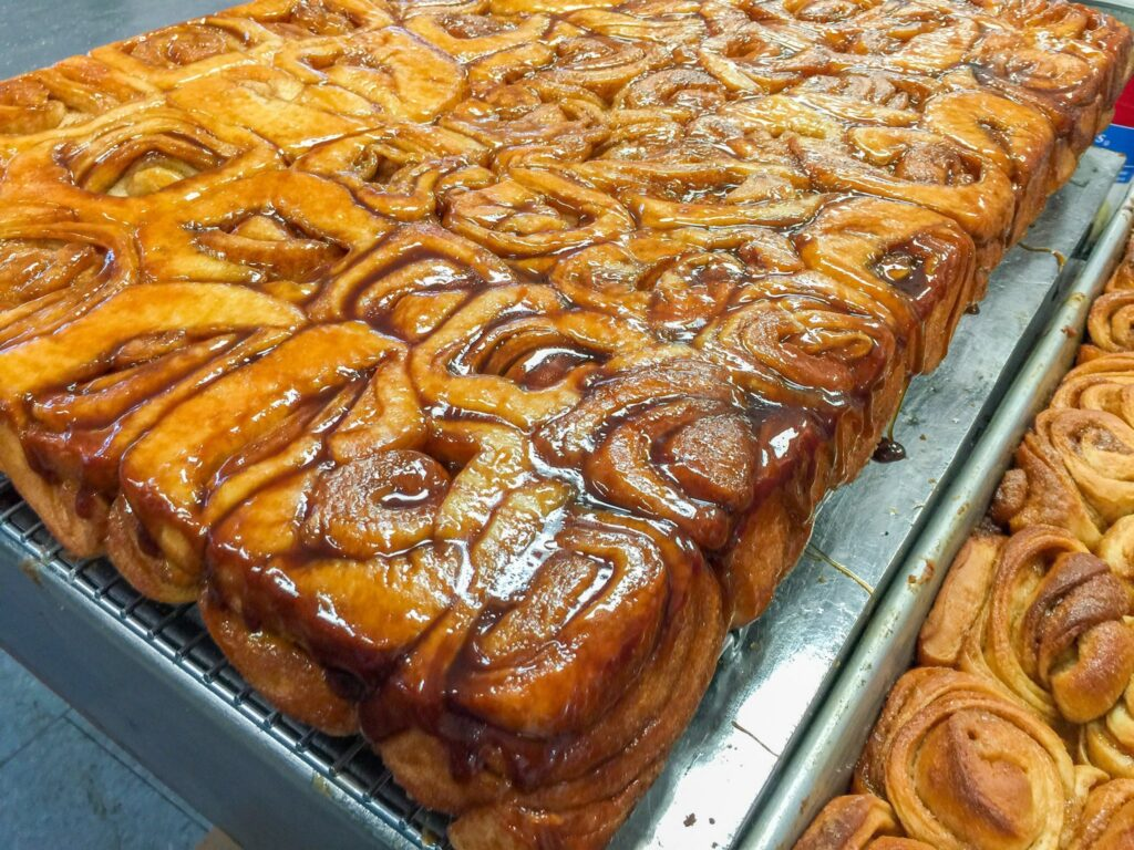 Knaus Berry Farms one of the Things to do in Miami, Florida. A picture of the cinnamon rolls they sell at Knaus Berry Farms one of the places you want to stop by when in Miami