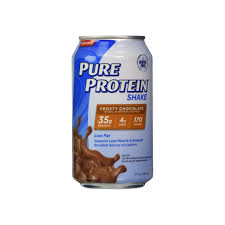 A picture of one our other popular vending machine snacks. A picture of the pure protein, protein drink