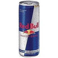 Which of the following is true about energy drinks and mixers? A picture of energy drink red bull. This drink taste amazing with alcohol and does not have to much sugar. This is one of our go to's. if your going drinking try redbull with alcohol for energy.