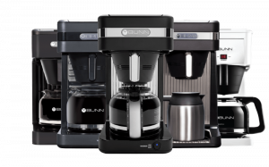 how to clean a bunn coffee maker. Picture of a coffee brewer